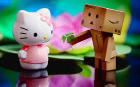 Hello kitti aime box man